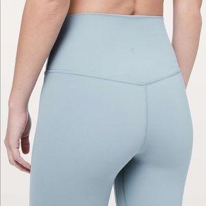 """Lululemon Align Pant 25"""" Size 4 Blue Cast"""